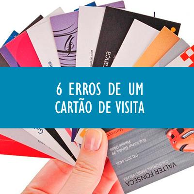 6 erros de um cartão de visita profissional off paper