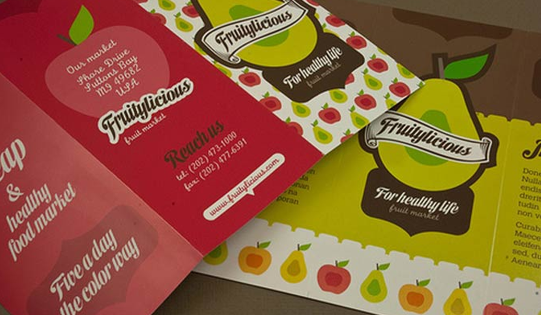 Como criar panfletos para lojas