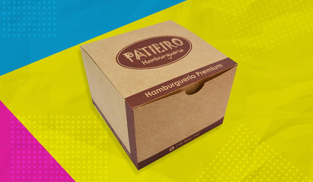 Embalagens criativas para hambúrguer é diferencial para seu restaurante