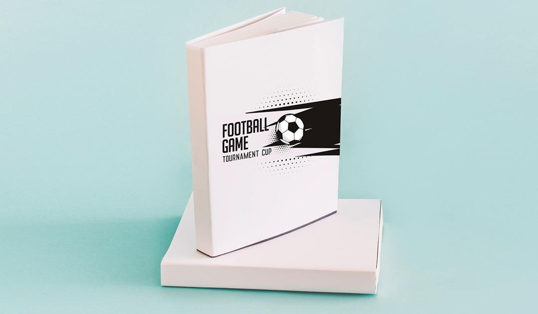 Cadernos personalizados para brindes e outros itens de papelaria para entrar no clima da Copa!