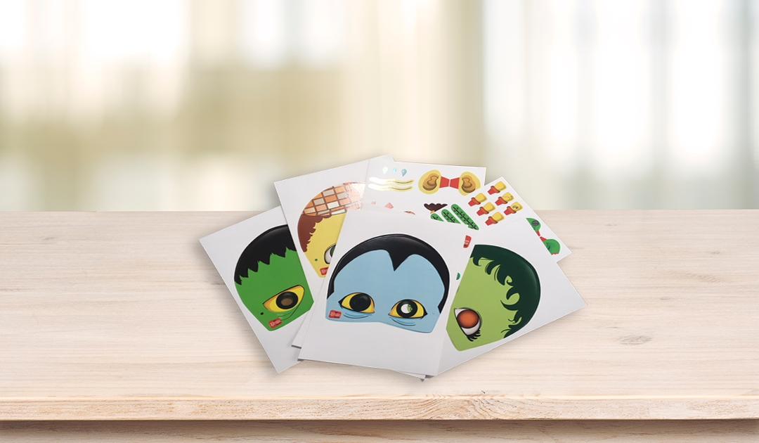 Faça as máscaras temáticas personalizadas para sua festa!