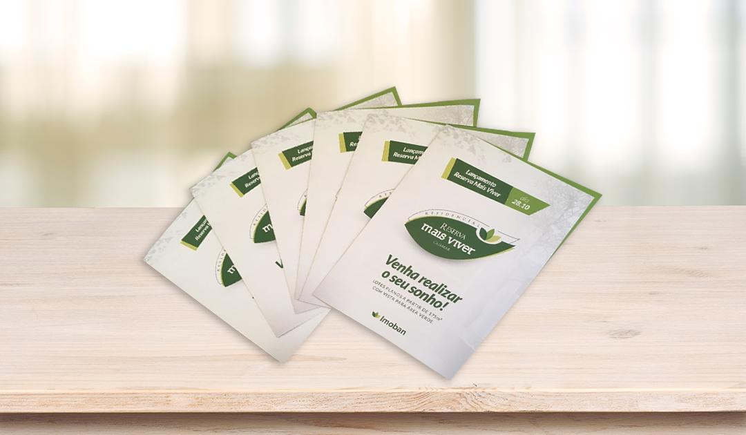 Amplie o marketing da sua empresa com folders de divulgação corporativa
