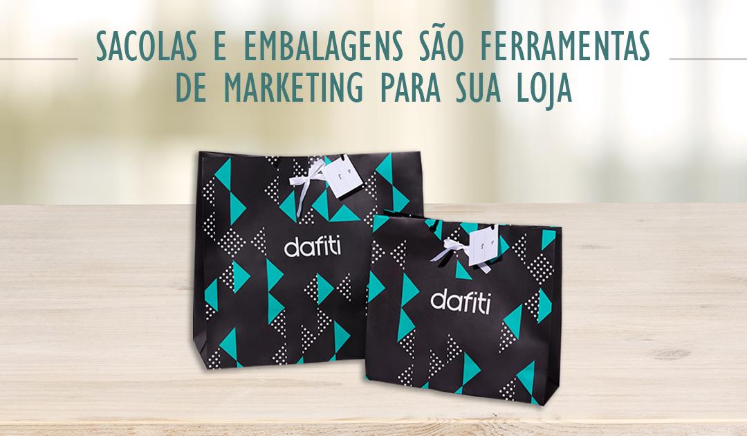 Sacolas e embalagens são ferramenta de marketing para sua loja