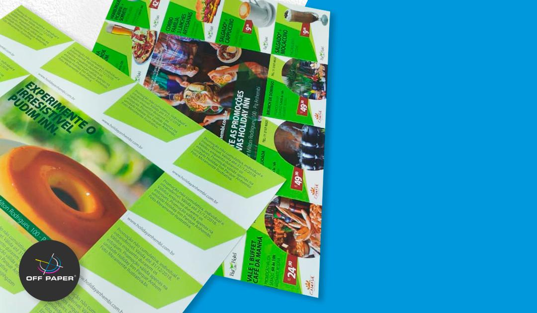 Como o material impresso pode ajudar na divulgação das suas promoções
