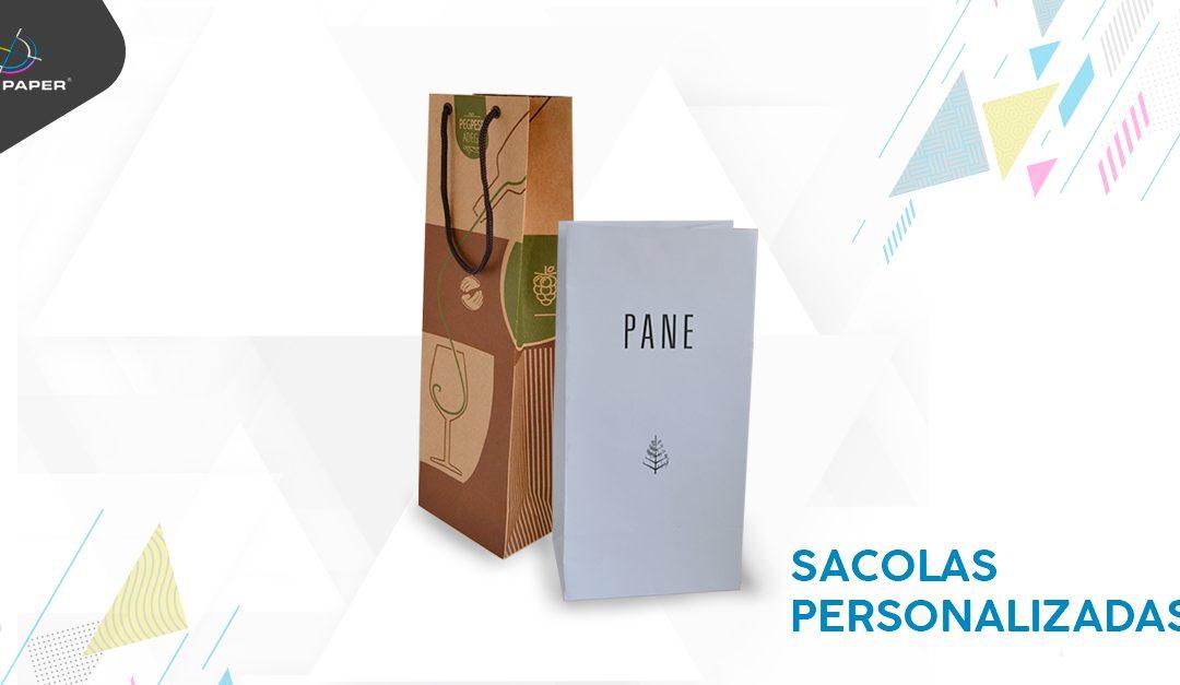 Sacolas de papel personalizadas: como produzir e encantar seus clientes