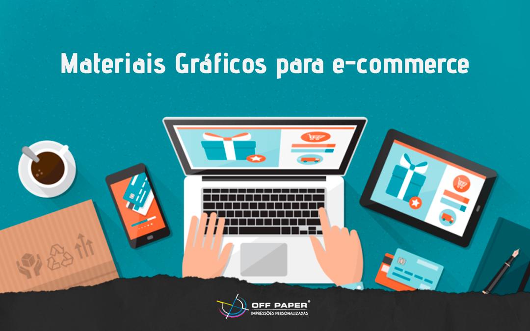 Conheça alguns materiais gráficos para e-commerce