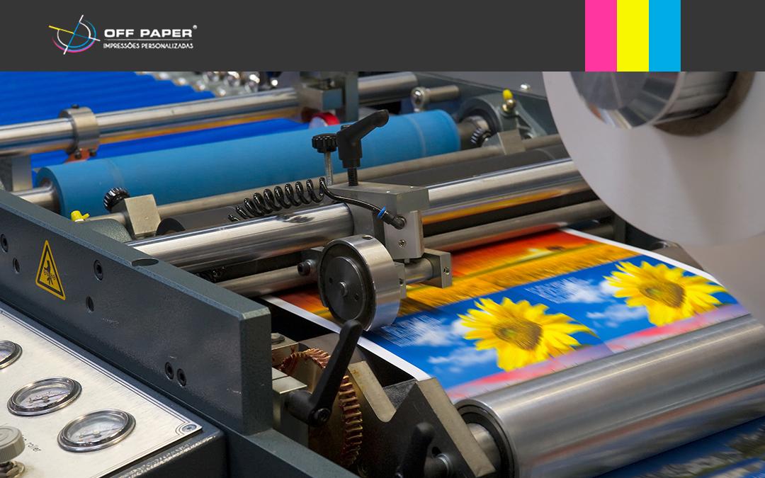 Você sabe qual a diferença entre Impressão Digital e Offset?