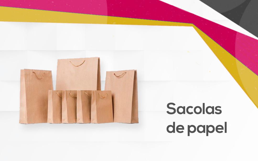 5 ideias de sacolas de papel para sua empresa