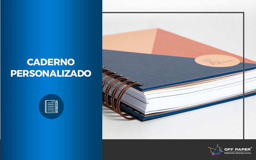 Invista em cadernos personalizados para sua empresa